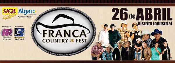 franca country fest - guairanews